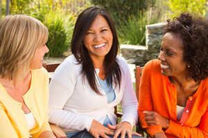 women talking about Legacy Giving