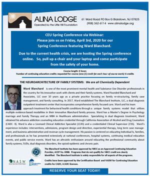 Spring Conference 2020 at Alina Lodge